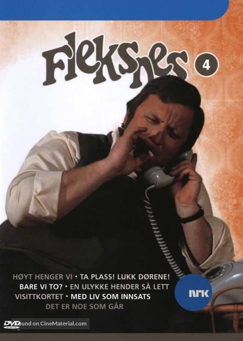 """""""Fleksnes fataliteter"""" - Norwegian DVD movie cover"""