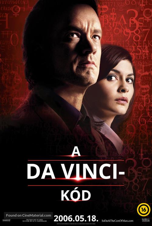The Da Vinci Code - Hungarian Movie Poster