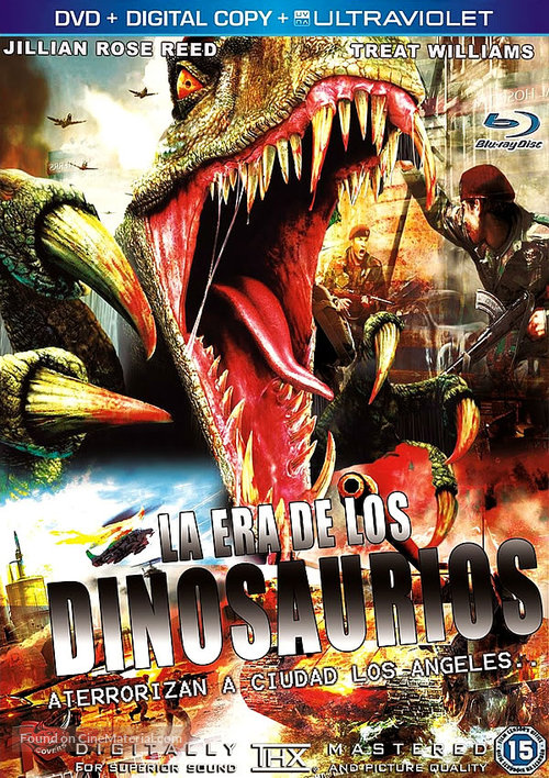 Age of Dinosaurs - Spanish Movie Cover