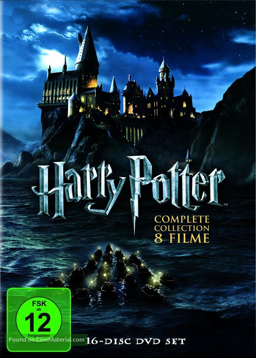 Harry Potter and the Deathly Hallows: Part I - German Movie Cover
