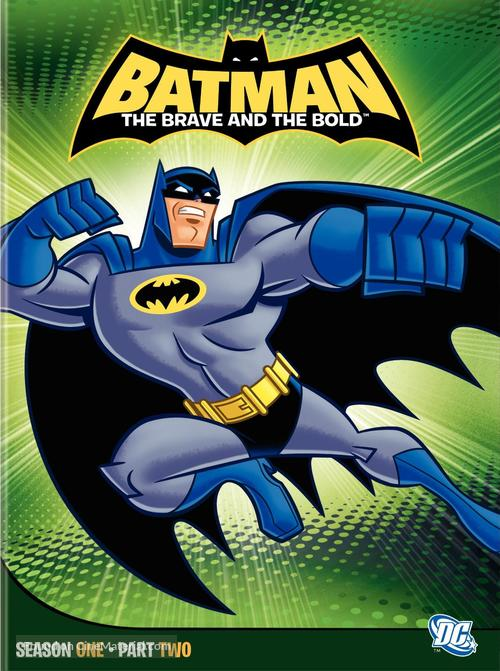 """""""Batman: The Brave and the Bold"""" - DVD movie cover"""