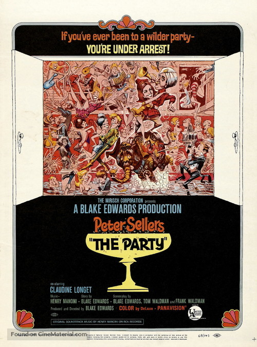 The Party - Movie Poster