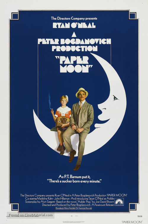 Paper Moon - Theatrical movie poster