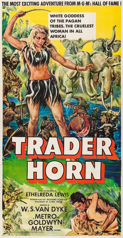 Trader Horn - Movie Poster