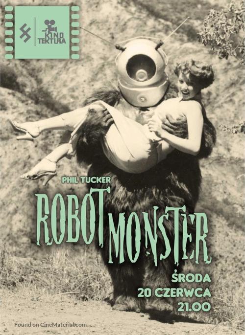 Robot Monster - Polish Movie Poster
