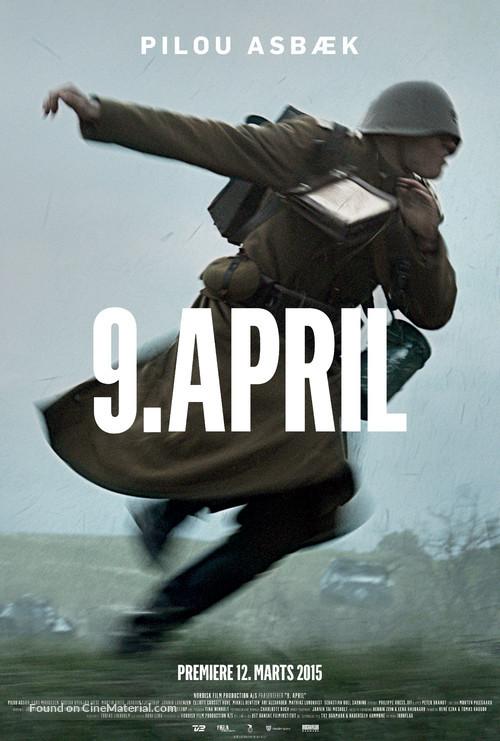 9. april - Danish Movie Poster