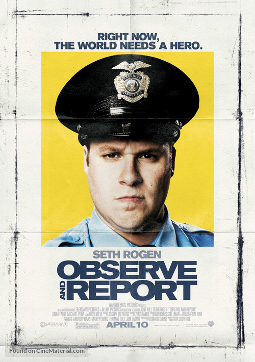 Observe and Report - Movie Poster
