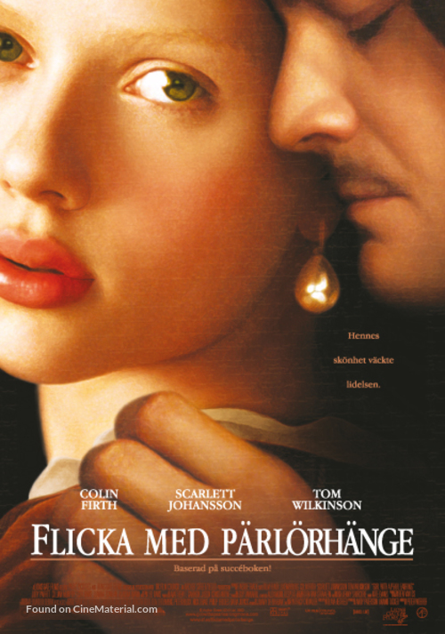 Girl with a Pearl Earring - Swedish poster