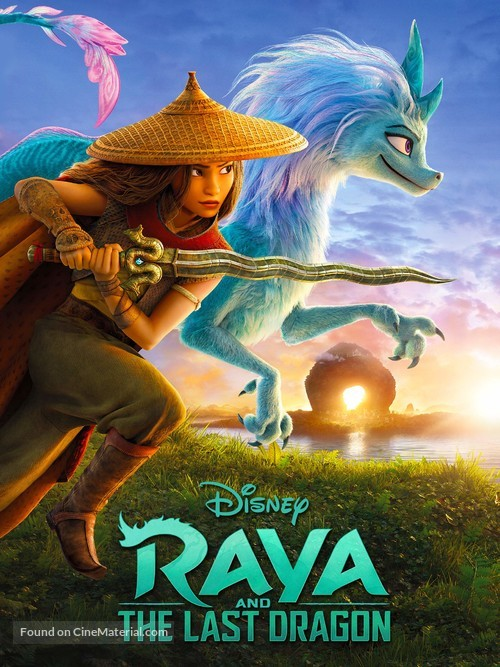 Raya and the Last Dragon - Video on demand movie cover