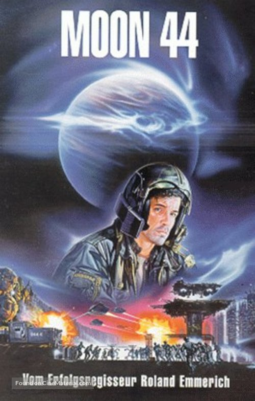 Moon 44 - German VHS movie cover