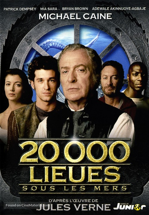 20,000 Leagues Under the Sea - French DVD movie cover