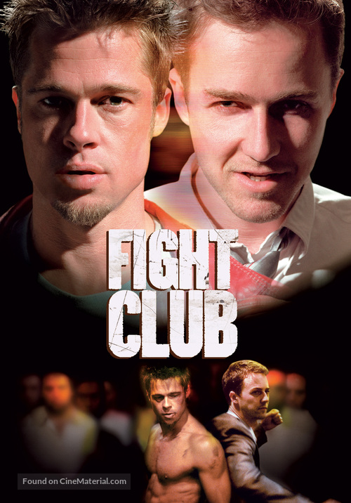 Fight Club - DVD movie cover