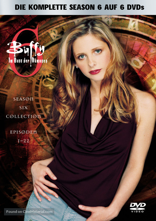 """Buffy the Vampire Slayer"" - German DVD movie cover"