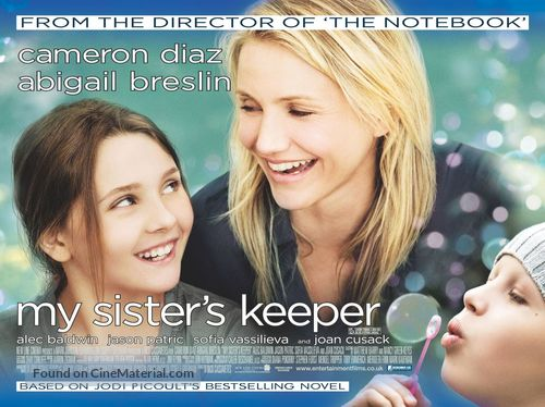 My Sister's Keeper - British Movie Poster