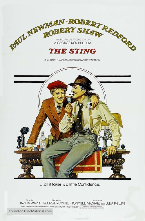The Sting - Movie Poster
