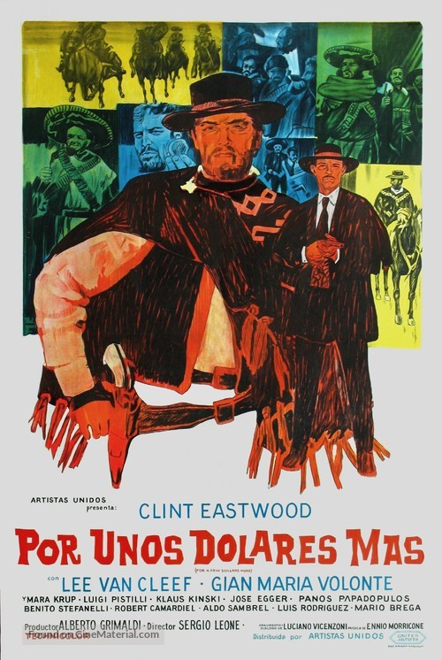 Per qualche dollaro in più - Argentinian Movie Poster