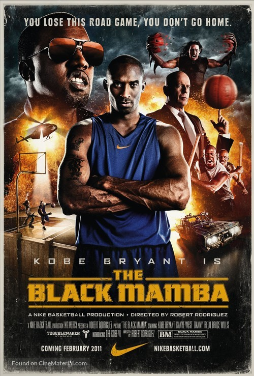 The Black Mamba - Movie Poster