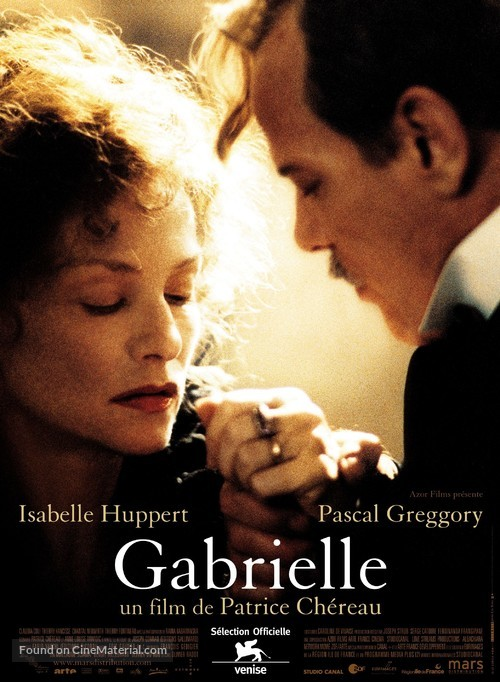 Gabrielle - French Movie Poster