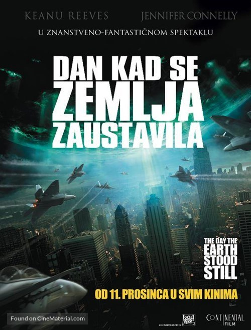 The Day the Earth Stood Still - Croatian Movie Poster