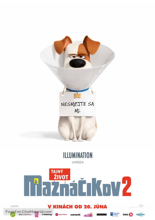 The Secret Life of Pets 2 - Slovak Movie Poster