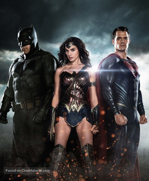 Batman v Superman: Dawn of Justice - Key art