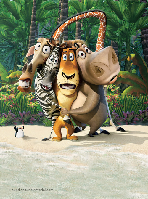 Madagascar - Key art
