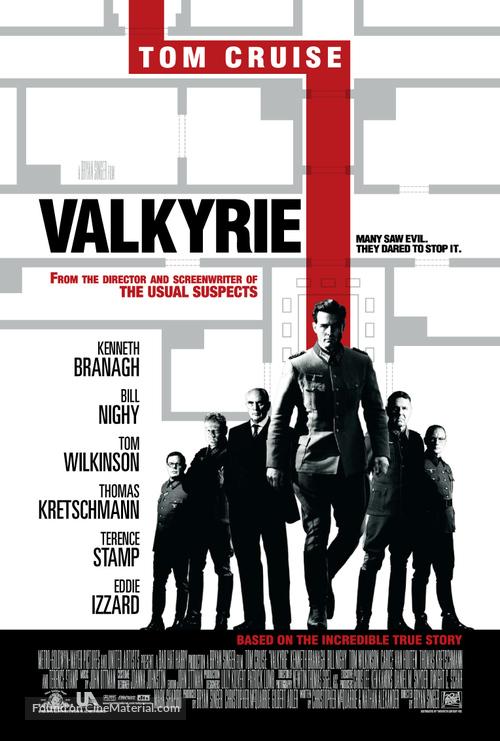Valkyrie - British Movie Poster