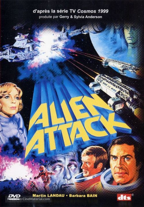 Alien Attack - French DVD movie cover