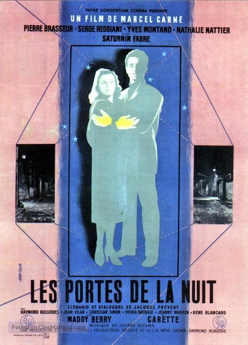 Portes de la nuit, Les - French Movie Poster