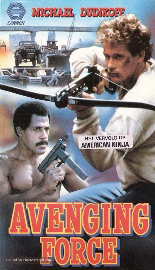Avenging Force - Dutch VHS cover