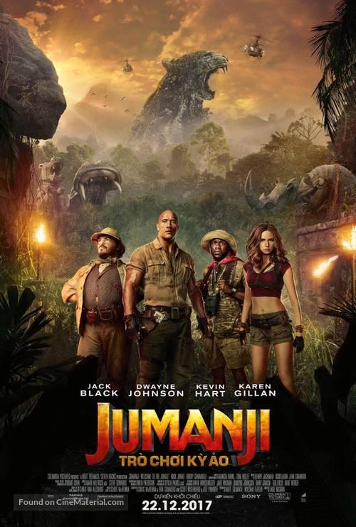 Jumanji: Welcome to the Jungle - Vietnamese Movie Poster