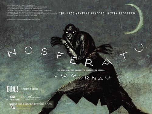 Nosferatu, eine Symphonie des Grauens - British Movie Poster