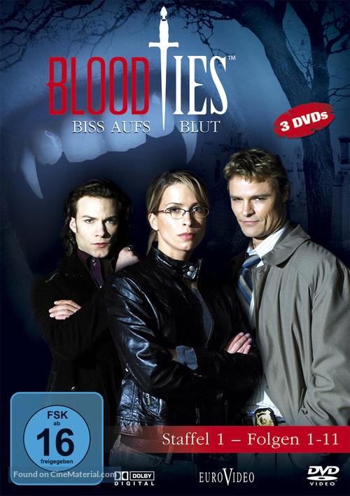"""""""Blood Ties"""" - German Movie Cover"""