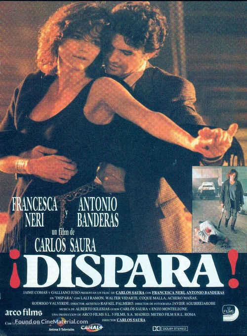 ¡Dispara! - Spanish Theatrical poster
