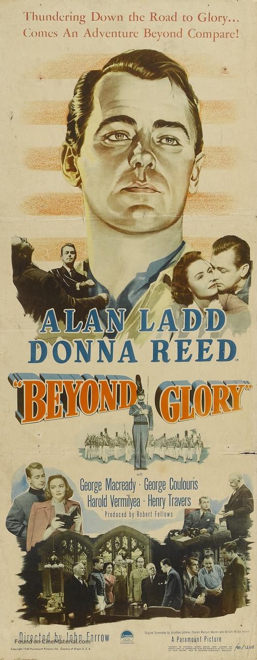 Beyond Glory - Movie Poster