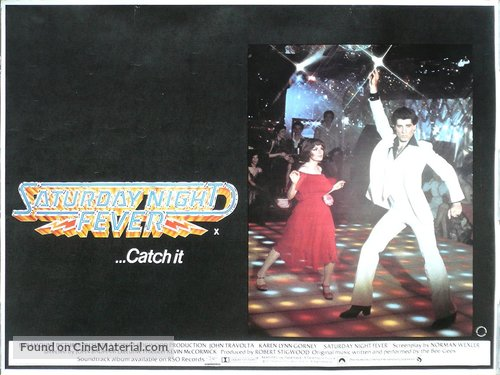 Saturday Night Fever - British Movie Poster