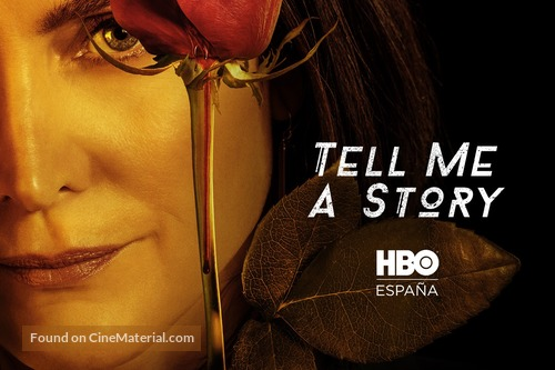 """""""Tell Me a Story"""" - Spanish Movie Poster"""