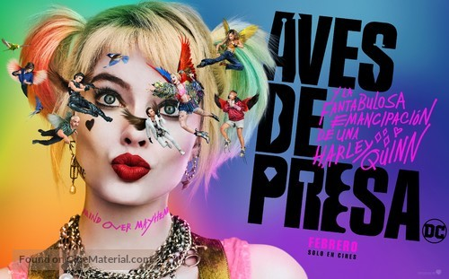 Harley Quinn: Birds of Prey - Argentinian Movie Poster