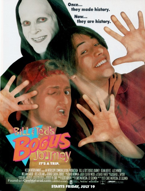 Bill & Ted's Bogus Journey - Movie Poster