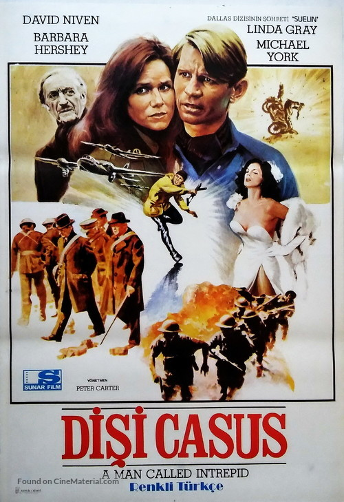 A Man Called Intrepid - Turkish Movie Poster