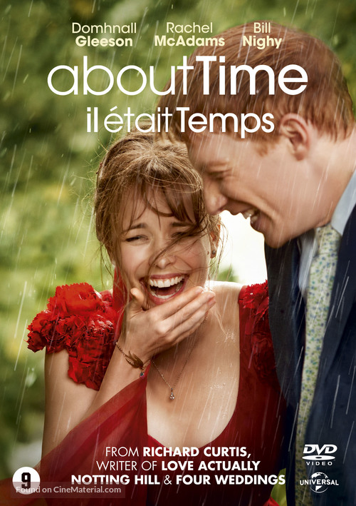 About Time - Dutch DVD movie cover