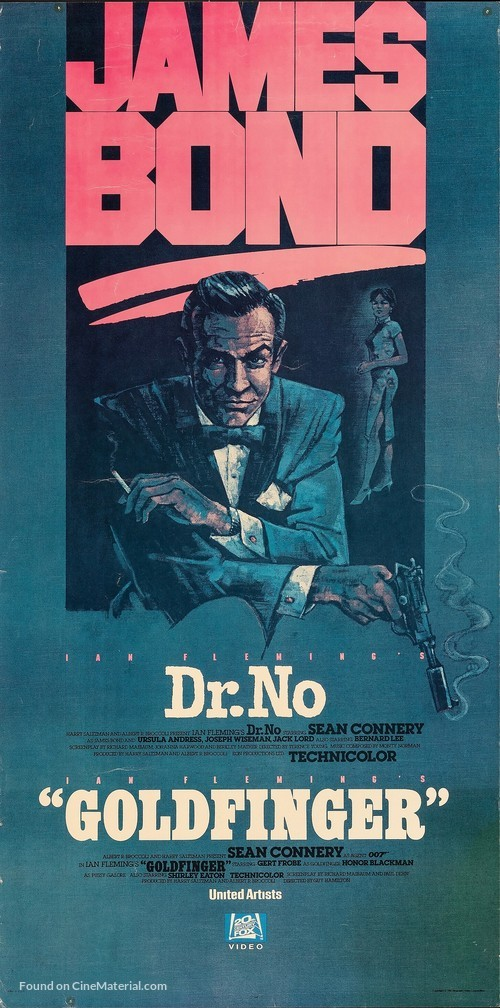 Dr. No - Video release movie poster