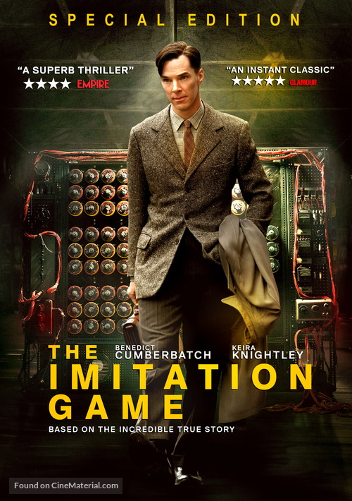The Imitation Game 2014 Movie Cover