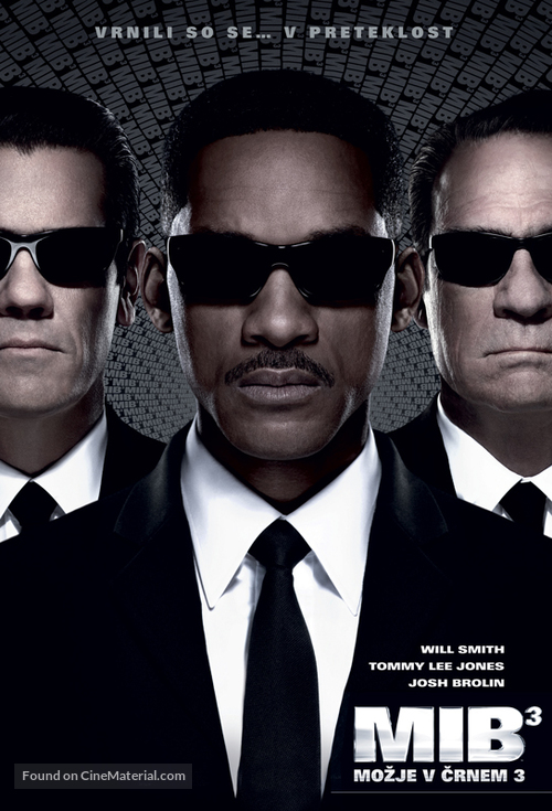 Men in Black 3 - Slovenian Movie Poster