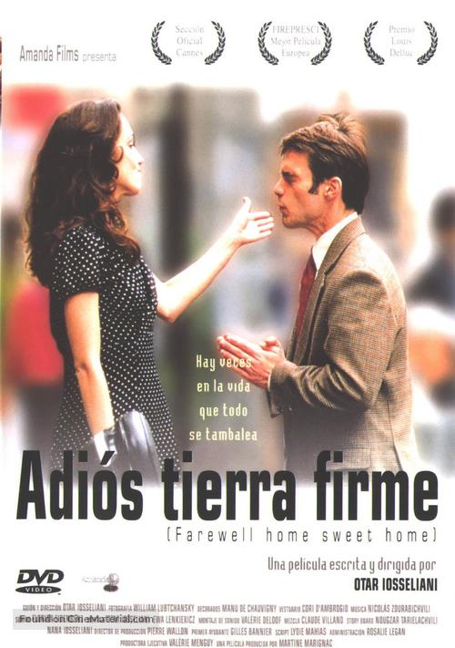 Adieu, plancher des vaches! - Spanish DVD movie cover