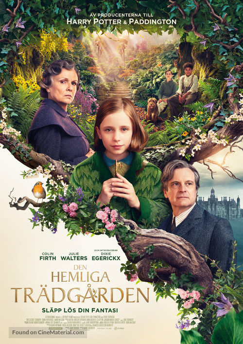 The Secret Garden - Swedish Movie Poster
