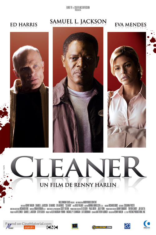 Cleaner - French Movie Poster