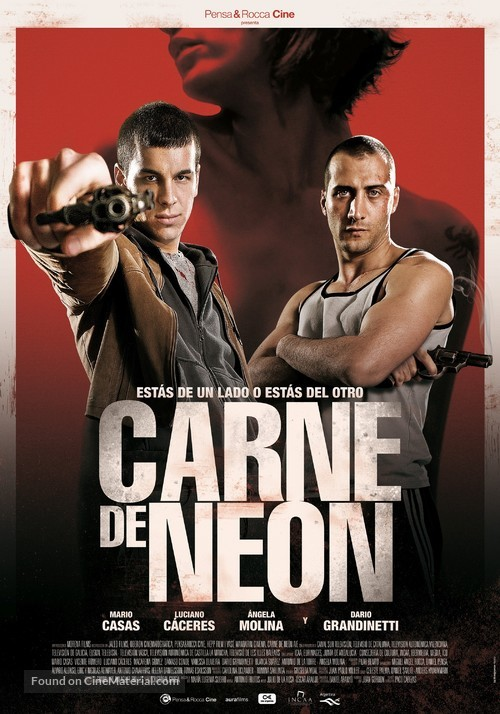 Carne de neón - Argentinian Movie Poster