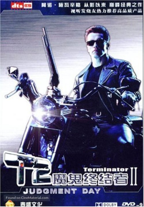 Terminator 2: Judgment Day - Chinese Movie Cover
