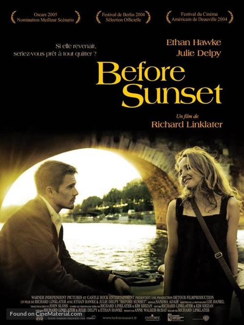 Before Sunset - French Movie Poster